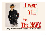 I Want You for the Navy, c.1917