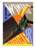 South for Winter Sunshine, Southern Railroad