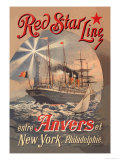 Red Star Cruise Line: Antwerp, New York, and Philadelphia