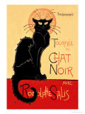 Buy Tournee du Chat Noir Avec Rodolptte Salis at AllPosters.com