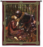 La Belle Dame Sans Merci Wall Tapestry