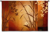 Flaxen Silhouette Wall Tapestry