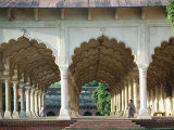 Arches, the Red Fort, Agra, Unesco World Heritage Site, Uttar Pradesh State, India, Asia Photographic Print