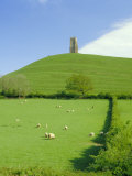 Buy Glastonbury Tor, Glastonbury, Somerset, England, UK at AllPosters.com
