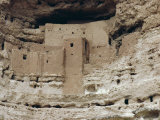 Montezuma Castle Dating from 1100-1400 Ad in Limestone Cliff, Sinagua, Arizona, USA