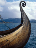 Oseberg Replica Viking Ship, Norway