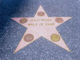 Walk of Fame, Hollywood Boulevard, Los Angeles, California, USA