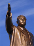 Bronze Statue, 30M High, of Great Leader, Mansudae Hill Grand Monument, Pyongyang, North Korea