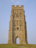 Buy The Tower, Glastonbury Tor, Glastonbury, Somerset, England, UK at AllPosters.com