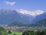 Interlaken, Jungfrau Region, Bernese Oberland, Swiss Alps, Switzerland, Europe