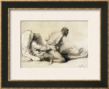 A Man and Woman Making Love, Plate I of
