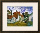 Buy Street in Auvers (Les Toits Rouges), c.1890 at AllPosters.com