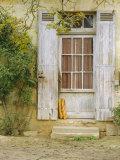Rustic Door and Bread, Aquitaine, France, Europe