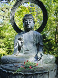 Buddha Statue (1790), Japanese Tea Gardens, Golden Gate Park, San Francisco, California, USA