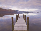 Barrow Bay Landing Stage, Derwent Water, Lake District, Cumbria, England, UK