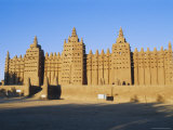 The Great Mosque, Djenne, Mali, Africa