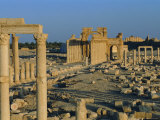 Palmyra, Ruins of Roman City, Syria, Middle East