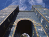 Ishtar Gate, Babylon, Iraq, Middle East