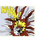Whaam! (panel 2 of 2) Art Print