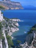 Cassis, Calanque d'En Vau, Cote Des Calanques, Bouches Du Rhone, Mediterranean, Provence, France