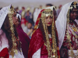 Traditional Berber Wedding, Tataouine Oasis, Tunisia, North Africa