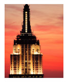 Empire State Building Sunset Photographic Print