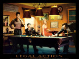 Legal Action Art Print