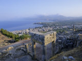 View of the Coast, Solunto, Sicily, Italy, Mediterranean, Europe