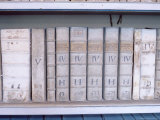 Historical Books at Strahov Monastery, Hradcany, Prague, Czech Republic, Europe