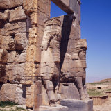 The Gateway of Xerxes, Persepolis, Iran, Middle East