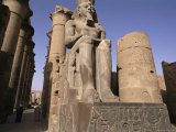Statue of the Pharaoh Ramses II, Luxor Temple, Thebes, Unesco World Heritage Site, Egypt
