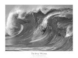 The Drop, Waimea Art Print