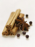 Cinnamon Sticks, Juniper Berries and Star Anise