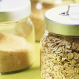 Cereals in Storage Jars