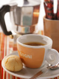Buy Cup of Espresso in Front of Espresso Machine at AllPosters.com