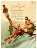 Matson, Surfboard by Hula Girl
