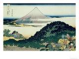 36 Views of Mount Fuji, no. 6: The Coast of Seven Leagues in Kamakura