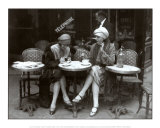Cafe et Cigarette Paris, 1925 Art Print