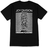 Joy Division - Unknown Pleasures Shirts from Concert Tee Company