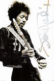 Jimi Hendrix Black & White Giant Poster