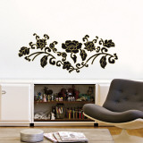 Noir Baroque Wall Decal