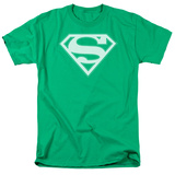Superman - Green & White Shield