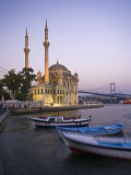 Ortakoy Camii and the Bosphorus Bridge, Istanbul, Turkey