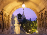 Buda, Fishermen's Bastion, Budapest, Hungary