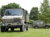 Unimog Truck of the Belgian Army