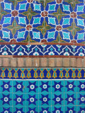 Detail of Tilework, Shrine of Hazrat Ali, Mazar-I-Sharif, Afghanistan