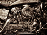 V-Twin Motorcyle Engine