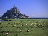 Mont St Michel, Manche, Normandy, France