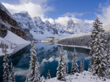 Wenkchemna Peaks and Moraine Lake, Banff National Park, Alberta, Canada