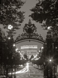 Arc de Triomphe, Paris, France Photographic Print